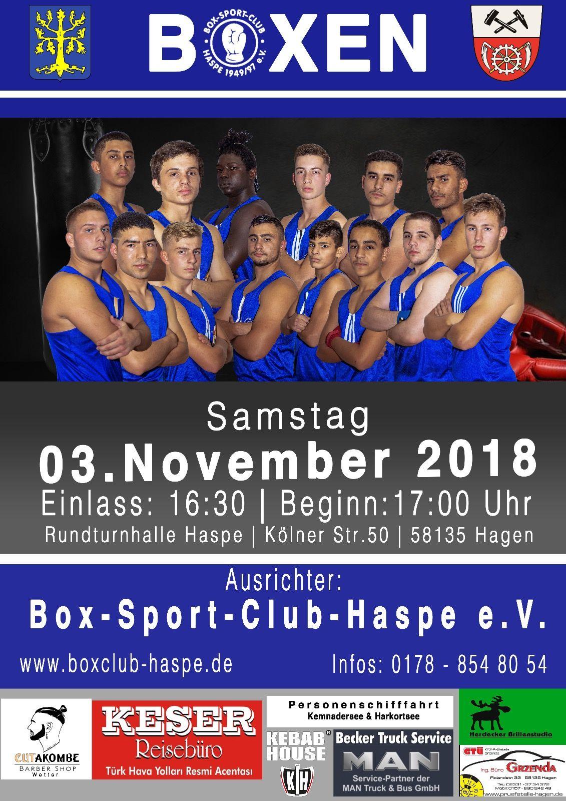 BSC-Haspe Veranstalltung 03.11.2018