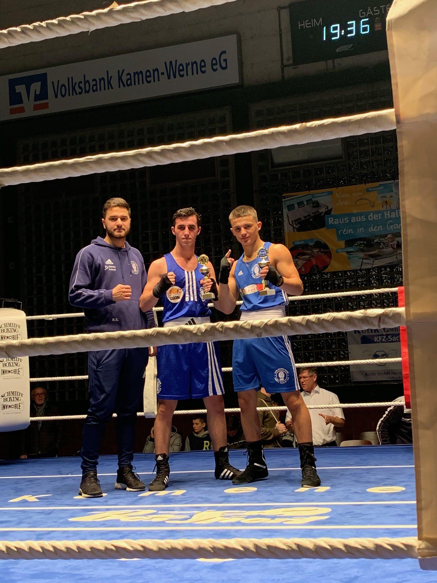 Vorbereitung in Kamen und Bad Oyenhausen zur Kreismeisterschaft 2020