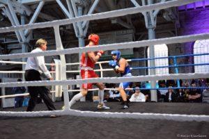 Sieger im Schwergewicht Agron Bala Mühlheim Fight Night
