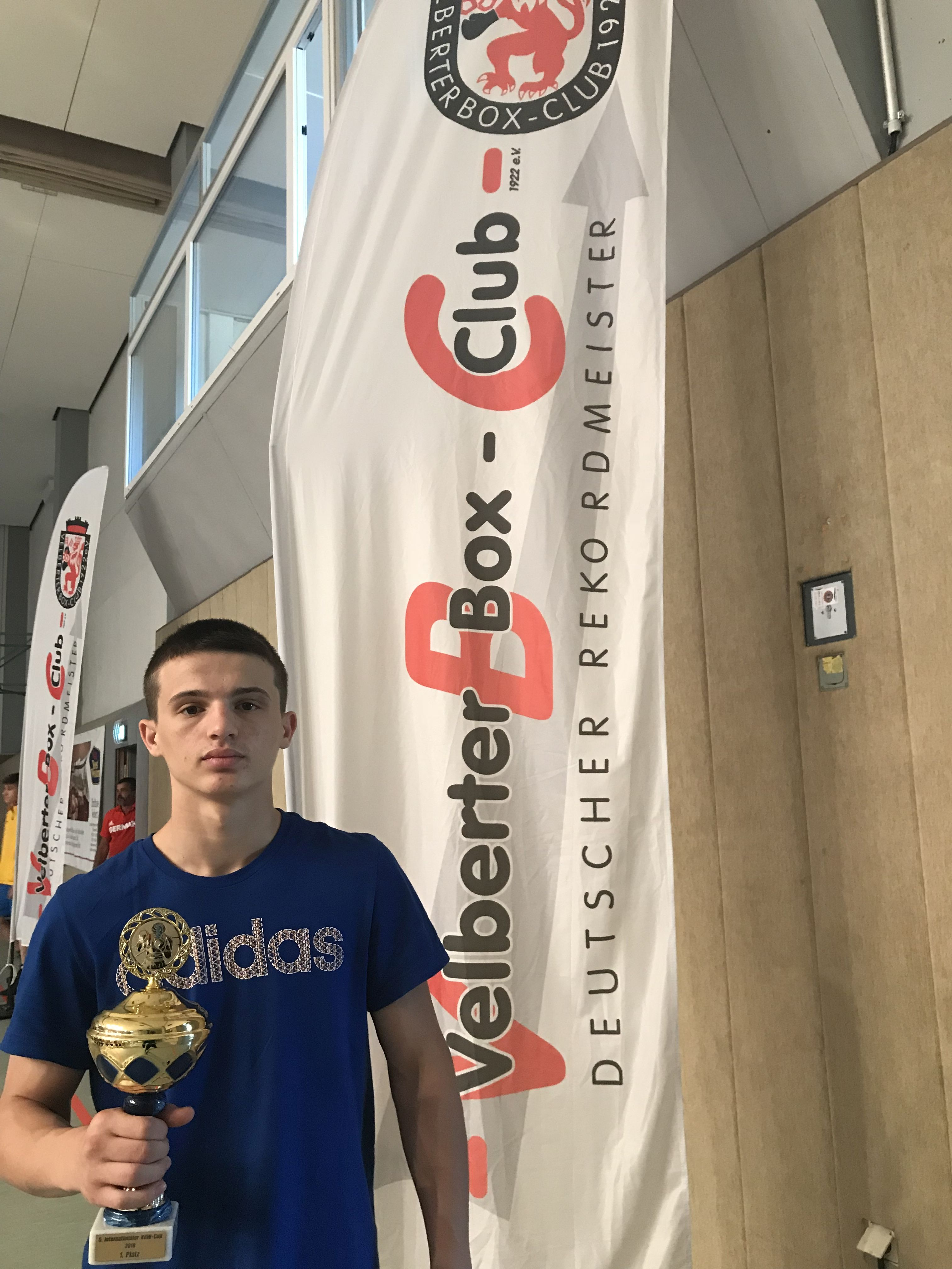 Altin Murati mit NRW-Cup 2018