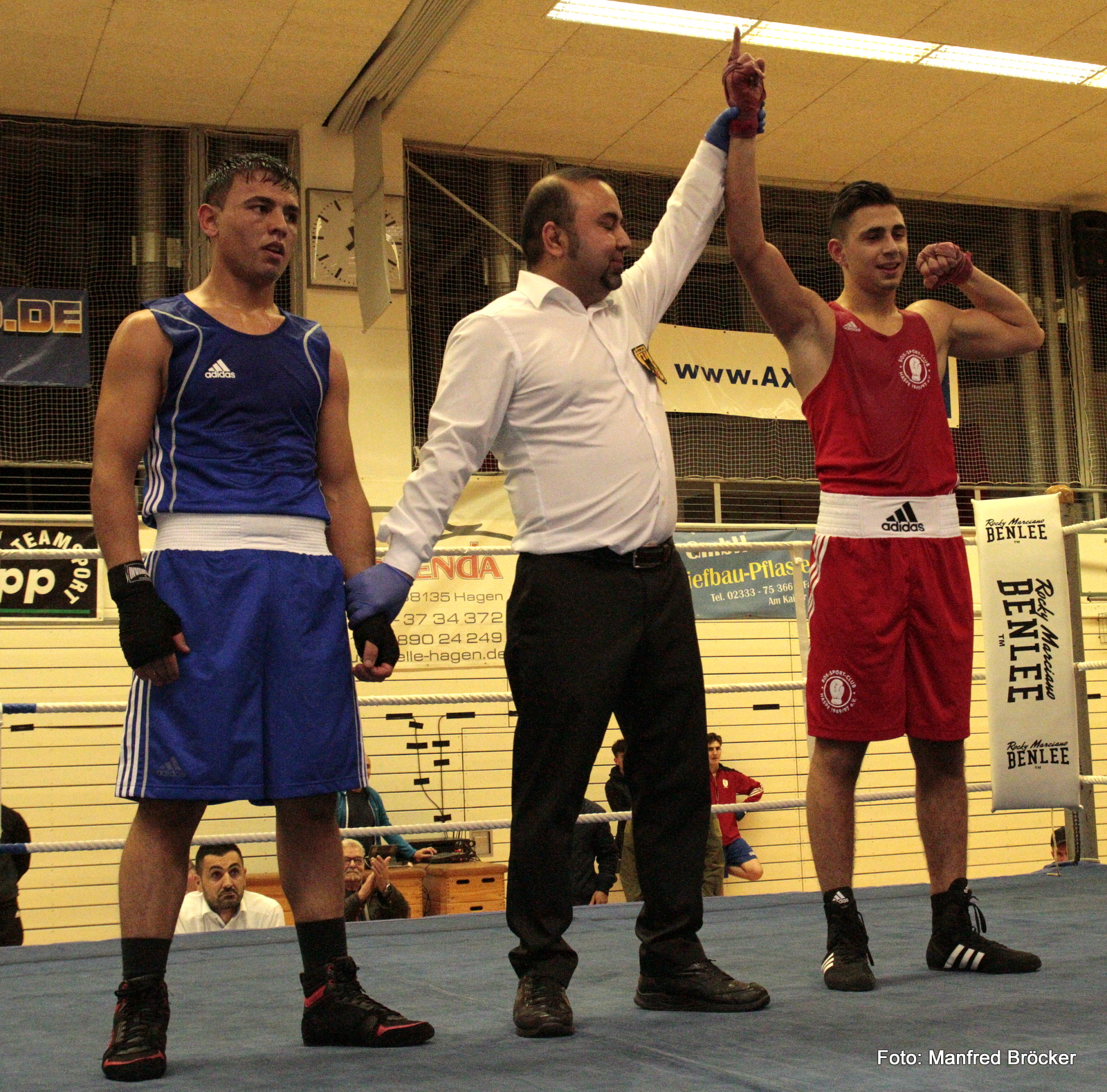 Burak Karapicak siegt im Halbfinale der Kreismeisterschaften 2019